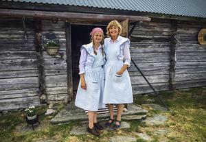 Elin och Kristina, butöserna.