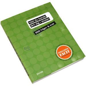 """Vem är smartast, du eller dina resekompisar? Ta med boken """"Vad du borde lärt dig i skolan – 899 frågor & svar"""" så kan ni reda ut det. Eller läs boken själv och ägna resten av resan åt att briljera med dina kunskaper. Finns bland annat hos adlibris.com och kostar drygt en hundralapp."""