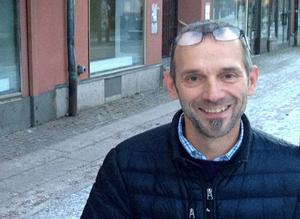Mikael Hartmeier gläds åt nya kontorsetableringar i centrala Borlänge.