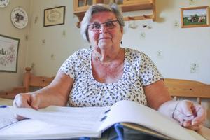 Ulla-Britt Holm har tyckt om att vara god man.– Man känner att man gör något viktigt - och man får mycket uppskattning, säger hon.