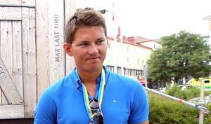 André Myhrer belönades för Årets idrottsprestation.