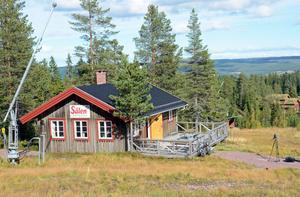 En f d våffelstuiga mitt i pisten har byggts om till studielokale i Campus Sälen - Sveriges högst belägna campus.