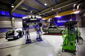 Här ska elever som vill bli fordonstekniker få sin utbildning. Foto: Håkan Luthman