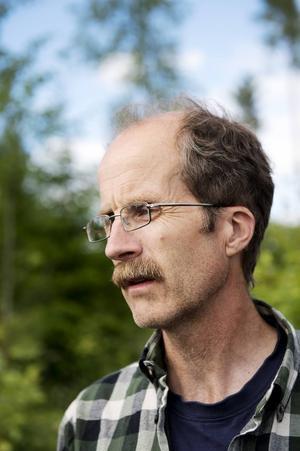 Stefan Grundström, ordförande för Sveriges botaniska förening.