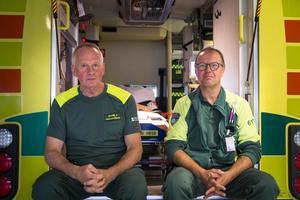 Sture Jansson och Tommy Svedin berättar att det är den värsta sommaren som de har upplevt.