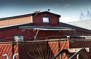 Bandidos lokal. Örebropolisen har haft intensiv bevakning av Bandidos lokal sedan nätverket kom hit. Bild: lennart Lundkvist