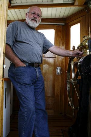 Kapten. Anders Berglund är van vid stora båtar. För honom är Engelbrekt