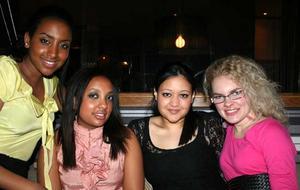 Tabazco. Banna, Winta, Nadia och Ida