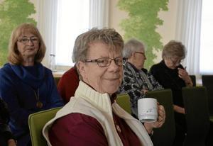 Vanja Björsson är förtroendevald i kyrkofullmäktige och stolt över att vara en förebild. Kvinnor ska kunna vara med och ta ansvar i samhället tycker hon. Foto: Helena Björk