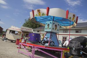Det fanns också karuseller för barnen att roa sig med.
