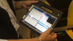 Via plattan kan information delas mellan ambulansen och sjukhuset i realtid.