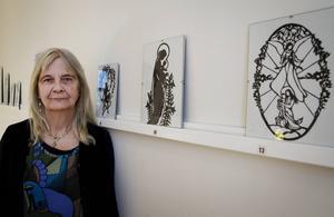 Rose-Marie Esbjörnsson fastnade för konstformen när hon bodde i Danmark.