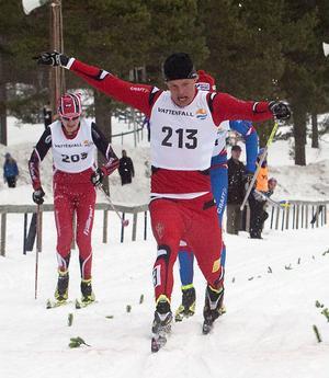 Karl-Johan Westberg, Borås, kände till upploppet i Hudiksvall och han kunde köra hem sitt första JSM-guld.