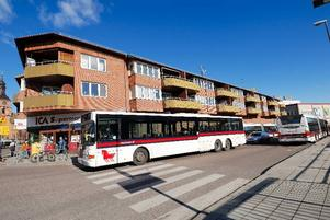 Bilfritt. Östra Hamngatan kan komma att bli bilfri från Falugatan fram till Vattugränd. Ett beslut kan komma senare i vår.