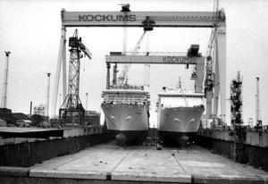 Den svenska varvsindustrin är nedlagd trots stora statliga stöd.