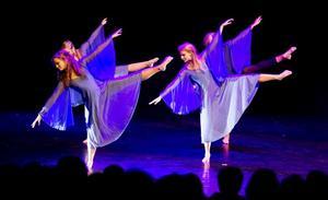 Kulturskolans dansshow på Konserthuset.