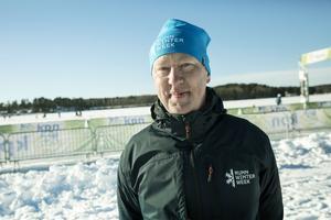 Det är njutbart att se hur duktiga åkarna är, tycker Christian van Dartel som är projektledare för Runn Winter Week.