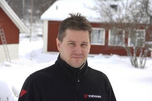 Martin Berglund, Gävle, är en av favoriterna i Skutskärsratten på lördag.