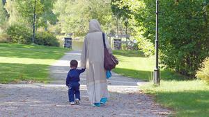 I Kratte masugn i Hofors finns ett av Gästriklands tillfälliga flyktingboenden.