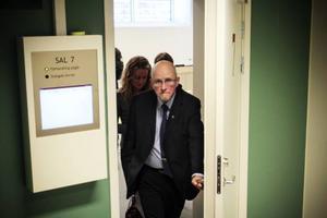 Kommundirektören Bengt Marsh satt med som åhörare under hela dagen.