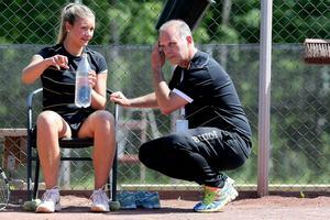 Keranovic under tiden i Kramfors tennisklubb. Nu spelar hon för Enskede i Elitserien.