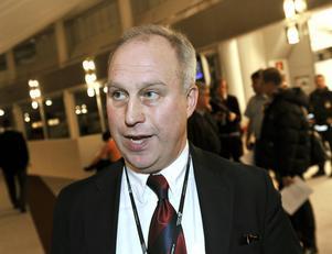 Börjar nytt jobb. Per Bill (M) är nu länets första moderata landshövding på många decennier.