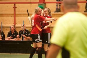 Frida Mattson assisterade Malin Hellblad till hennes 2-0-mål.