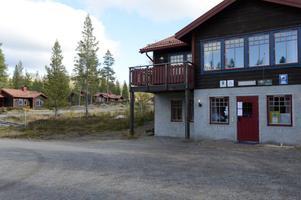 Inte stängt, men mörkt för Fulufjällbyns finns stugby som gick i konkurs i juni.