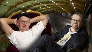 Willy Björkman och Knut Knutsson är klara som gäster på den nya hem- och villamässan i Nordichallen.