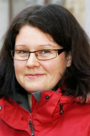 Linda Sidekrans, 33 år, Marieby:– Nej, jag har inga tankar på det nu. Man måste ha en bra affärsidé först, om något som kan slå igenom.