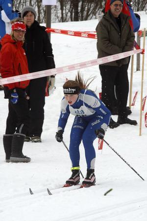 Agnes Åsander Grahn tog sig till kvartsfinal.