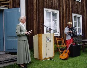 Med friluftsgudstjänst och film firades Hembygdsgårdens dag i söndags i Brunflo.