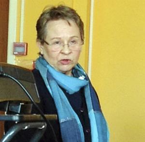 Karin Stenman-Nyhäll besökte SPF Grangärdes senaste möte och föreläste om minnet.