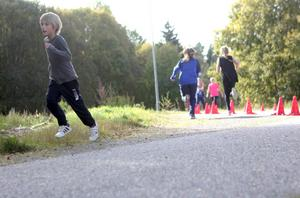 Många hade mycket spring i benen även efter några varv.