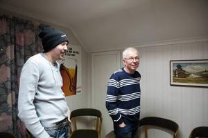 David Sandell och Jan-Erik Dahlbäck sitter med i styrelsen för Spelberoendes riksförbunds lokalförening i Borlänge, som har öppna möten varje torsdagskväll.