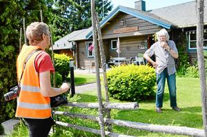 Inventering. Rasmus Axelsson, byggnadsantikvarie, har även dokumenterat kulturmiljöer i Kumla kommun.