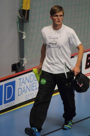 Tränaren Anders Rengman.
