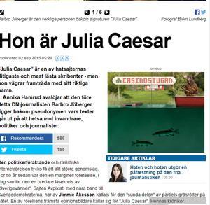 Onsdagens artikel på Expressen Kultur.
