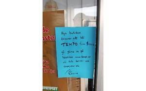 Nyligen blev det klart att det blir en Tempo-butik.