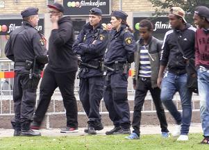Polis i Navigationsparken.
