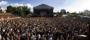 När Peace & Love nu går av stapeln för elfte gången uppträder 140 artister. Med 36000 sålda biljetter har festivalen i Borlänge vuxit till Sveriges största.Foto: Jon Wallsten
