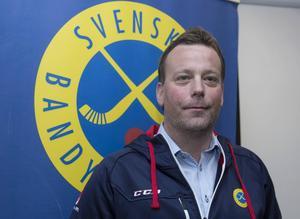 Förbundskapten Svenne Olsson.