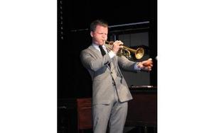 Karl Olanderssons trumpetspel är genomtänkt och varje ton sitter. Foto: Lennart Götesson