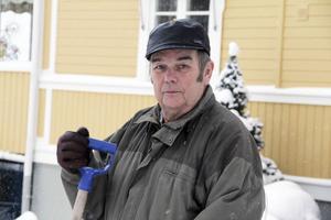 Vintern 1987 vägrade jag att åka och hälsa på folk. Jag var hemma och vaktade huset, säger Göran Stigsson.