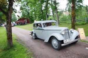 Människor från hela landet kommer till Norberg för att delta i Myrbergsrallyt.