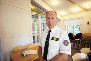 Mats Jansson är räddningschef på Södra Dalarnas räddningstjänstförbund.