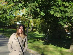 Maria Graaf ville bli smal för att det skulle synas att hon mådde dåligt, men bröt ihop på vägen dit. Nu är hon frisk och hjälper andra drabbade.