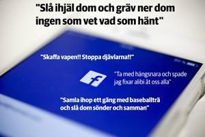 Upprörda kommentarer på Facebook efter att det spridits uppgifter om ett misstänkt sexofredande.