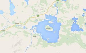 Ånnsjön ligger mellan Åre och Storlien.