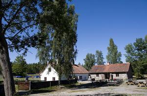 Restaurang Bränneriet ligger i brukets gamla brännvinsbränneri.